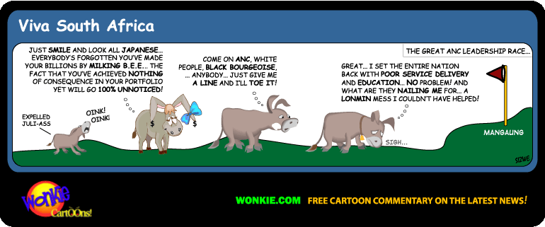 ANC Leadership Race – Mangaung 2012 Cartoon cartoon