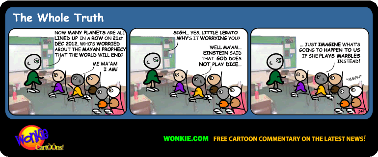 21 Dec 2012 – End of the World Cartoon! image