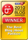 2010 SA Blog Awards Winners Badge