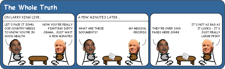 McCains bill of health cartoon