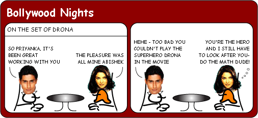 Priyanka Chopra is disappointed cartoon
