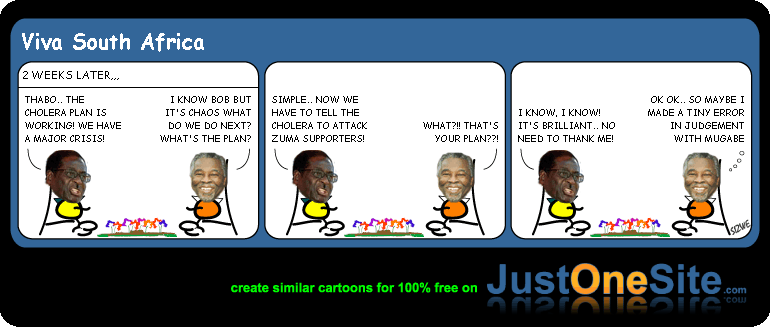 Bob and Mbeki pt2 cartoon