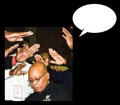 Power of Zuma - photo caption contest