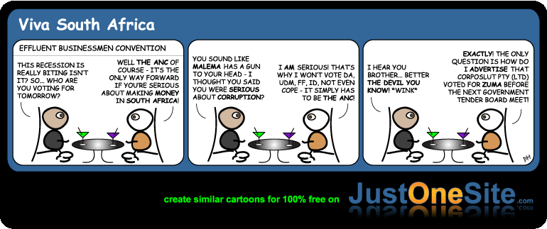 SA voters guide 2009 cartoon
