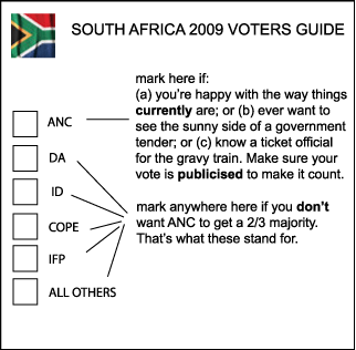 South-African-2009-ballot-explained