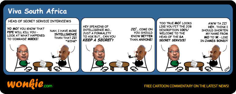 Mo Shaik secret service cartoon