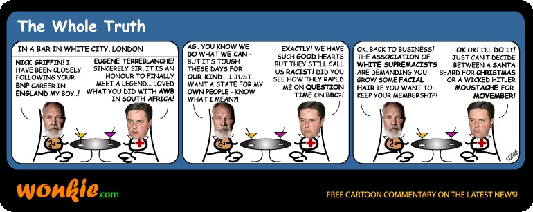 BNP Nick Griffin cartoon