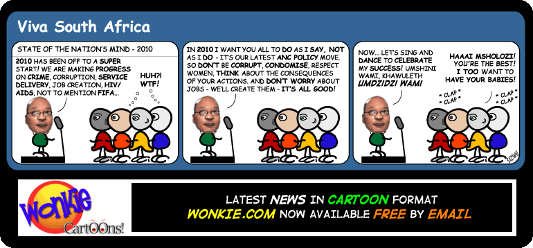 Zuma State of Nation cartoon