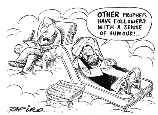 Zapiro Mohammed Cartoon