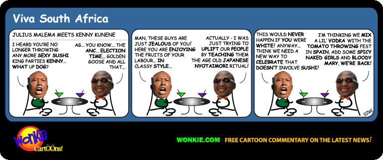 Sushi King Kunene cartoon