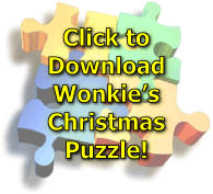 wonkie christmas puzzle picture