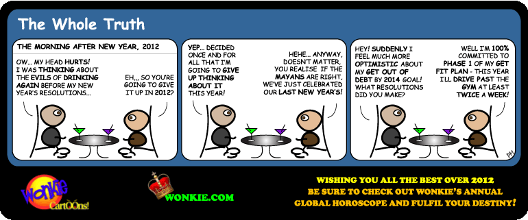 2012 global horoscope cartoon