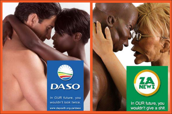 DASO Poster and Zapiro spoof image