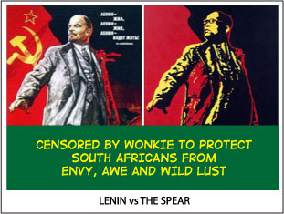 Lenin Poster vs The Spear image
