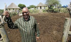 Jacob Zuma at Nkandla Compound photo