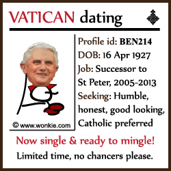 Popes Dating Profile image