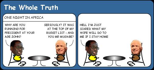McCain meets Mugabe cartoon