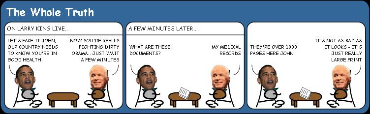 McCains bill of health cartoon