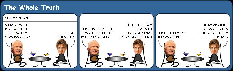 Palin and Troopergate cartoon