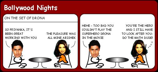 Priyanka Chopra is disappointed cartoon