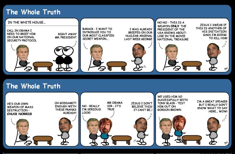 Bushs-Secret-weapon cartoon