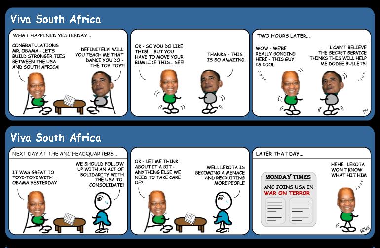 Zumas War on Terror cartoon