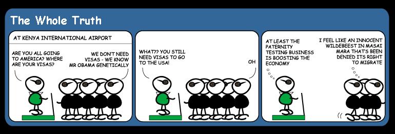 kenya migration cartoon