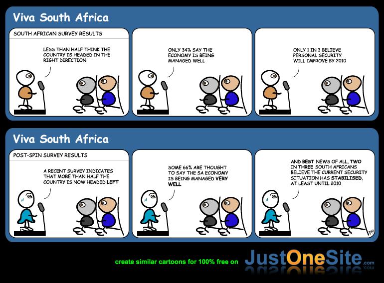 SA survey results cartoon