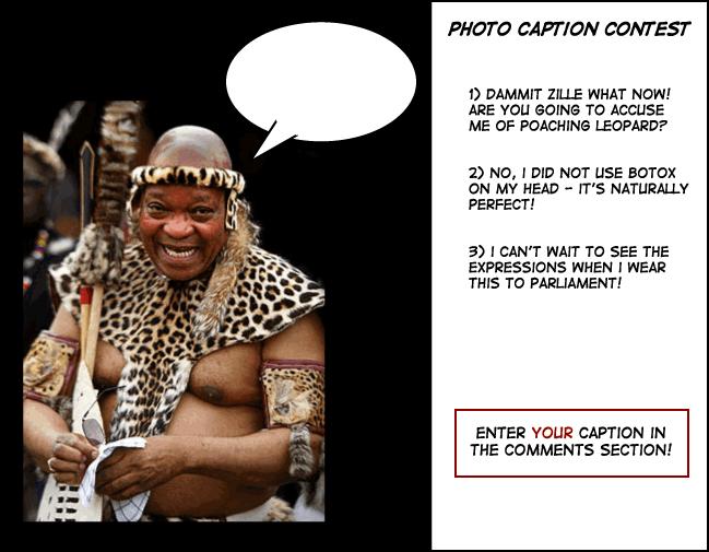 Zuma zulu photo caption contest