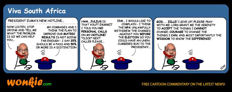 Zuma hotline cartoon