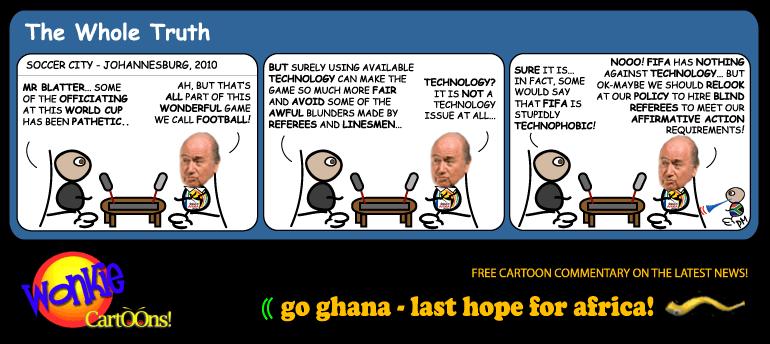 FIFA referee cartoon