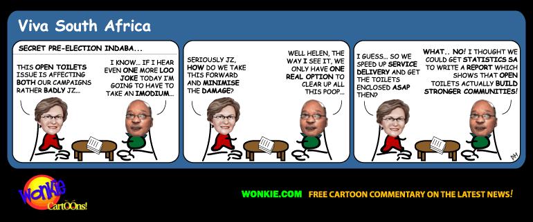 DA vs ANC Municipal elections cartoon