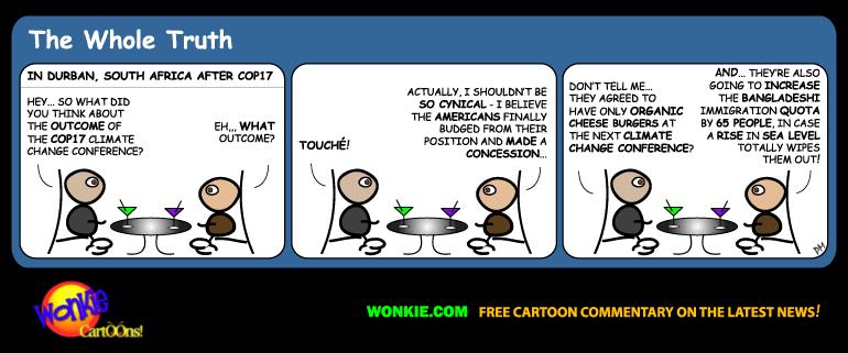 COP 17 Climate Change cartoon
