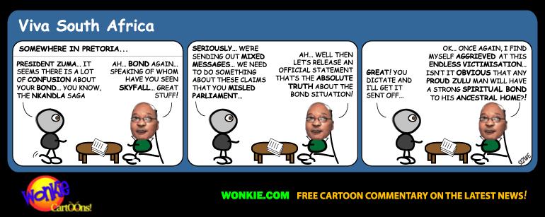 zuma nkandla upgrade cartoon