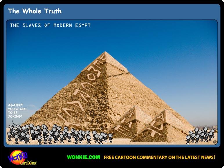 Egypt Politics News Cartoon